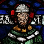Stained-glass window of Thomas Becket, Canterbury Cathedral