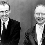 James D. Watson and Francis Crick