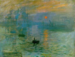 Impression, Sunrise (1872)