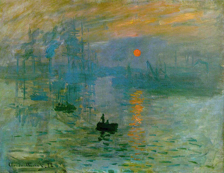 Impression, Sunrise (1872)