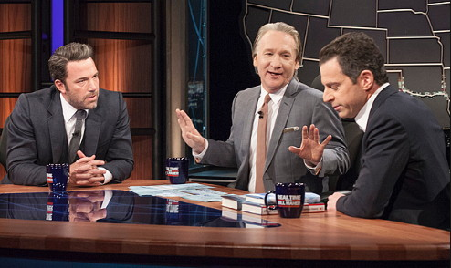 Maher, Harris and Affleck