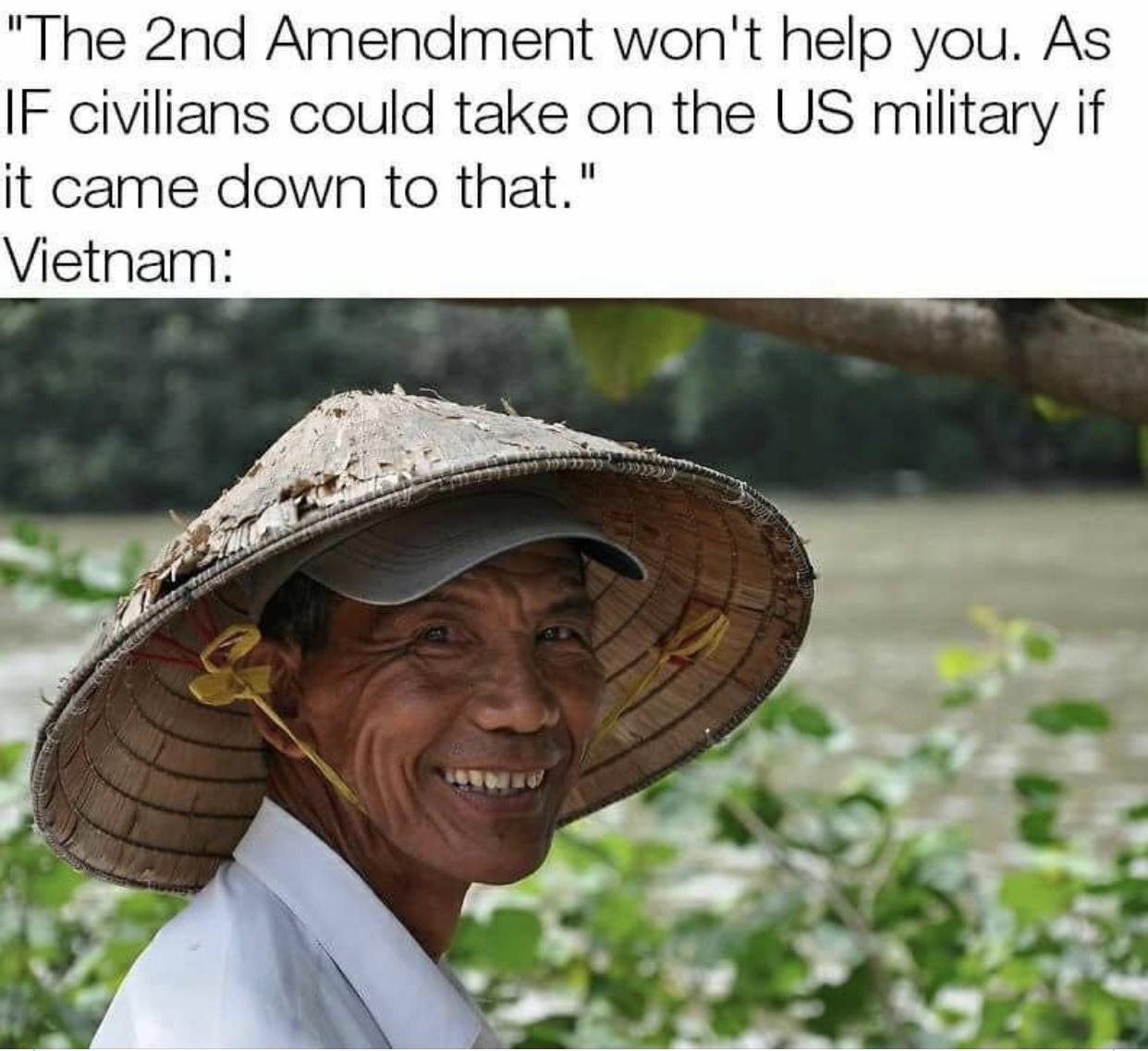 2nd Amend Wont Help